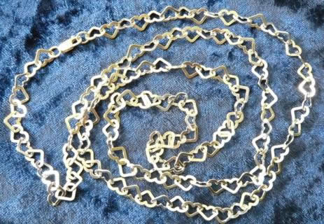 36-Inch-Flat-Heart-Link-Chain
